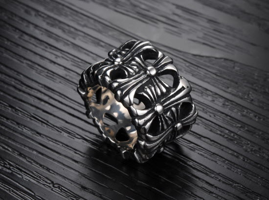 Multi Cross Men Ring 2