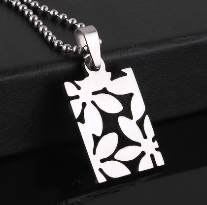 Spring Flower Pendant Necklace