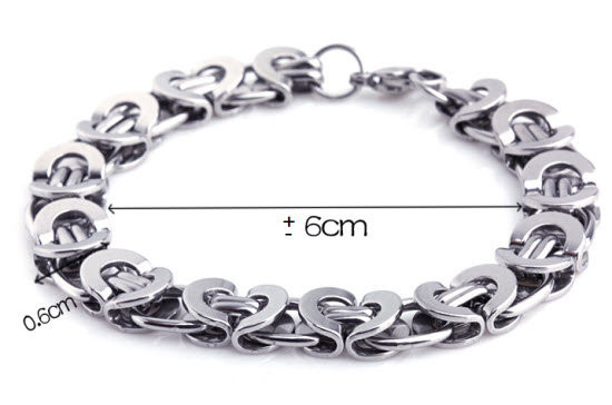 royal stainless steel men bracelet 4