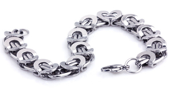 royal stainless steel men bracelet 5