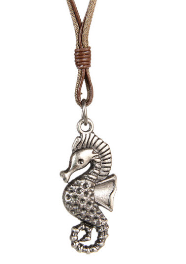 sea horse rope necklace 1b