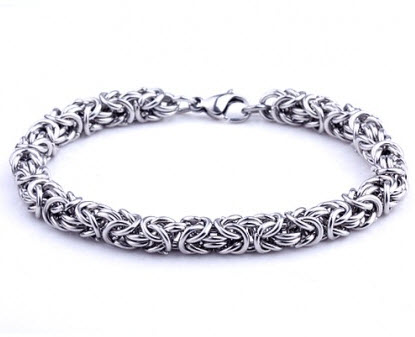 Elegant Stainless Steel Men Bracelet