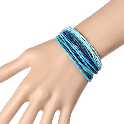 summer blue rope bracelet 2